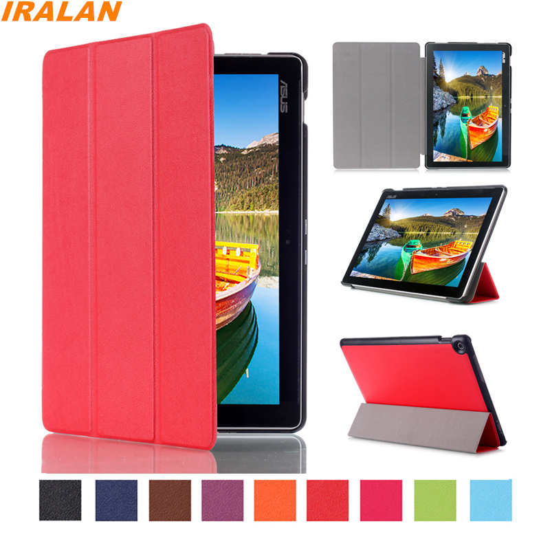 New Business Smart Case For Asus Zenpad 10 Z300C Z300CL Z300CG Z300M 10.1 inch Tri-Fold PU Leather Protective Cover+Stylus pen