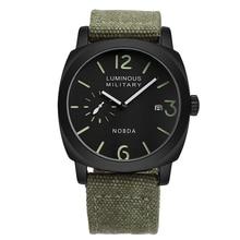 Fashion Men Watch Quartz Watches Analog Clock Men Sport Military Canvas Camouflage Wrist Watch Calendar saat relogio masculino