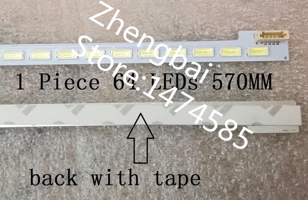 1 Pièce LED rétro-éclairage bar pour 46 écran LTA460HN05 LJ64-03495A TRAÎNEAU 2012SGS46 7030L 64 Led 57 CM