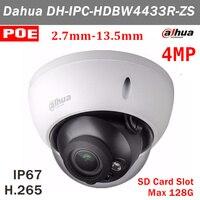 4MP English Version Dahua IPC HDBW4433R ZS 2 7mm 13 5mm Motorized Lens H 265 Ip