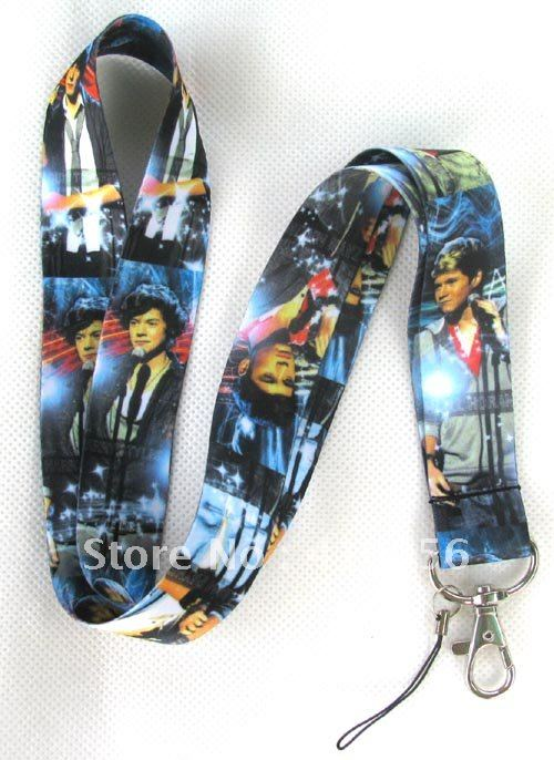 one direction LANYARD Neck KEYS ID NECK long STRAPS for Cell PHONE