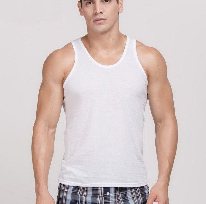Thin section/Men's undershirt /pure cotton/ Men's vest/U-Collar design/breathable/Large size/3XL/4XL/tb161012