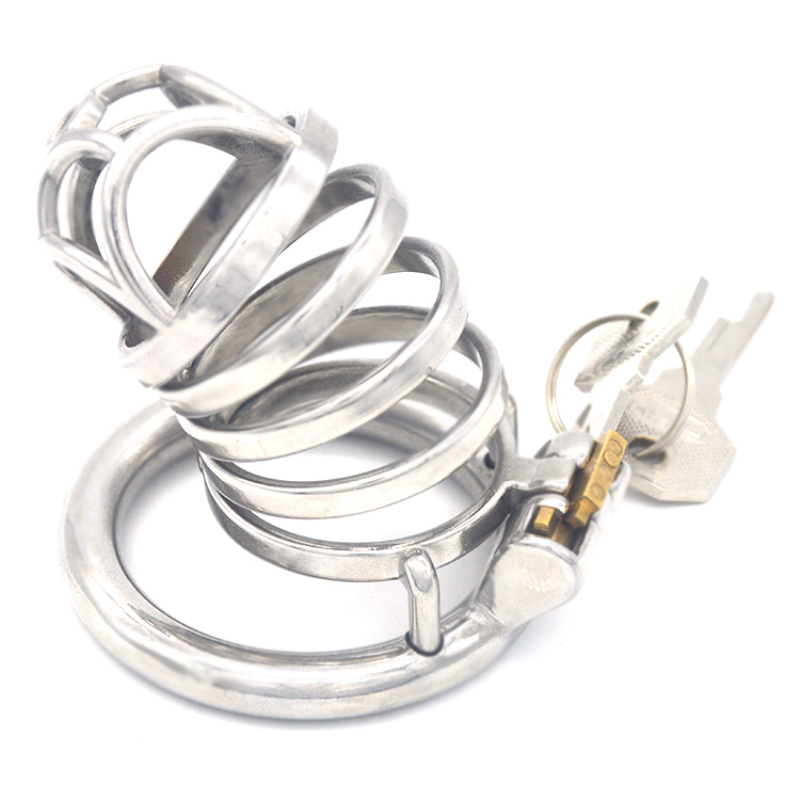 3 Size Male Chastity Device Stainless Steel Ventilation Cage Smooth Round Penis Ring Chastity Cage Sex Toys for Men G246D3 Size Male Chastity Device Stainless Steel Ventilation Cage Smooth Round Penis Ring Chastity Cage Sex Toys for Men G246D