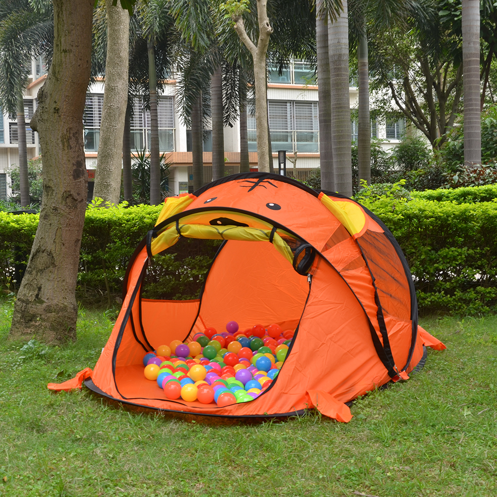 Tiger Picture Baby Tent Sleep or Play Beach Sun Shelter UV Protection Portable Shade Pool for