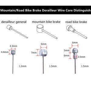 Набор проводов из 4 оцинкованных сменных и тормозных проводов для горного велосипеда, велосипеда, переднего и заднего переключателей