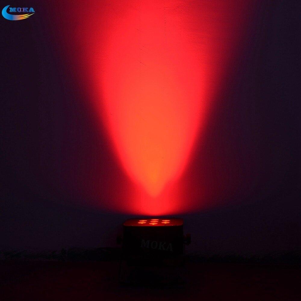 8 Pcs/lot 7*10W 3 in 1 RGB LED par light dj for indoor use wedding show Music Light Disco battery par light stand