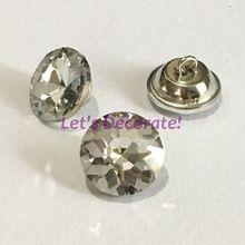 1000 шт./лот+ класса 20 мм кристалл алмаза Стеклянные кнопки для диван промышленности или другое украшение поля.() BSK201000