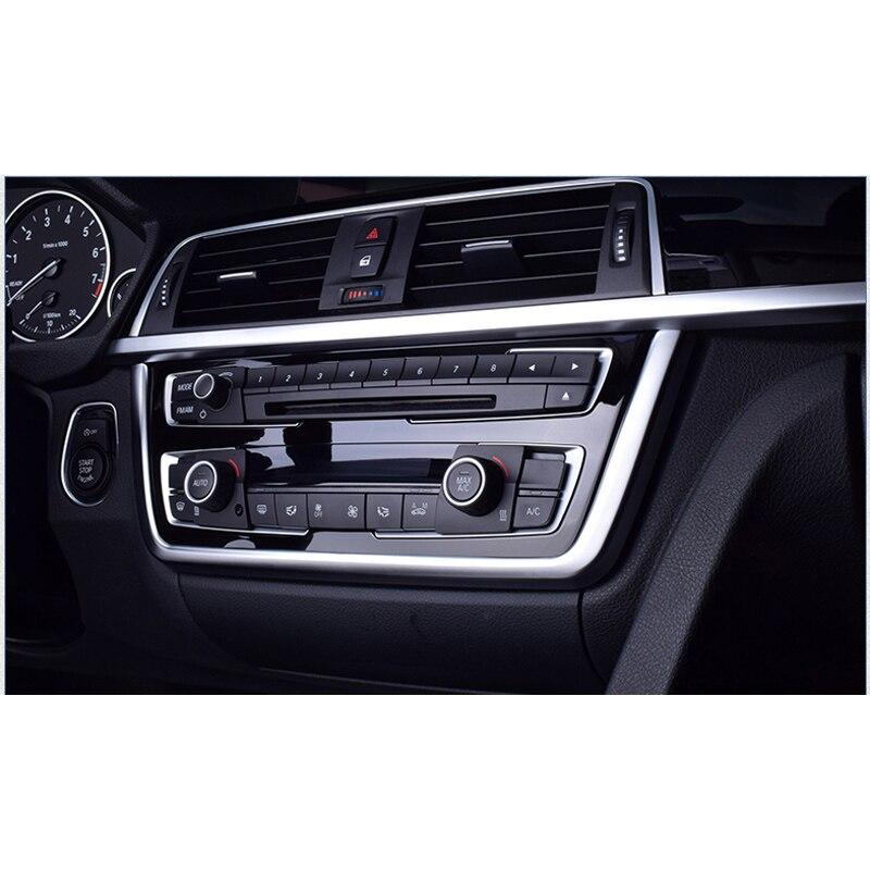 Lsrtw2017 Abs Car Center Control Panel Trim For Bmw 320i