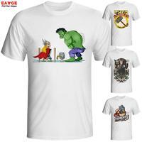 T העיצוב החדש חולצת אופנה נפלא נהדר אודין בפנים מל Thor חולצה מגניב אנימה קומיקס מודפס Tshirt מקרית טי גברים