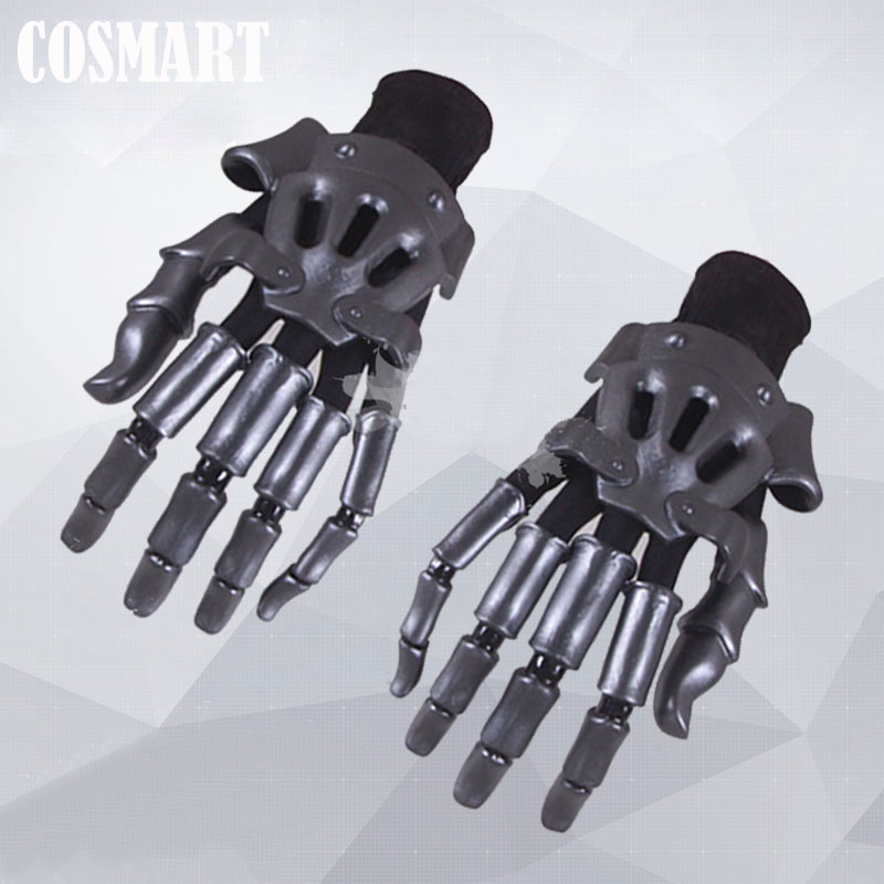 [STOCK]Anime Auto Memories Doll Figure Violet Evergarden Manipulator Cosplay Prop Hand Armor Extra Long Fingers 2018 Free Ship