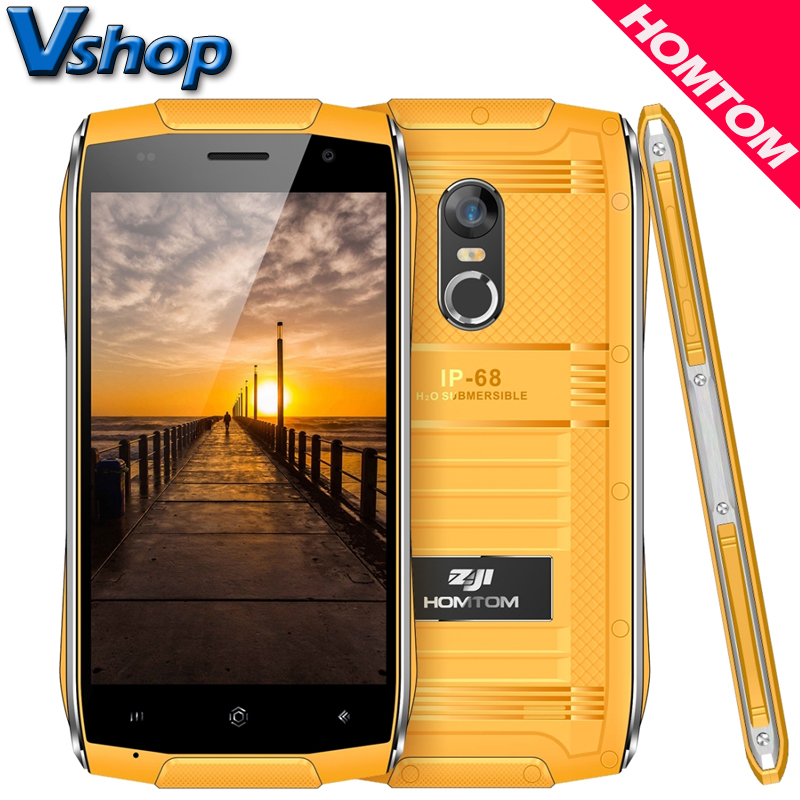 Original HOMTOM ZOJI Z6 3G Mobile Phone Android 6.0 1GB+8GB Quad Core IP68 Waterproof Smartphone Dual SIM 4.7 inch Cell Phone
