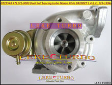 Free Ship Turbocharger GT2554R 471171 14411-5V400 471171-0003 Dual ball bearing Turbo For NISSAN Silvia SR20DET 1.4L- C .42 T.64