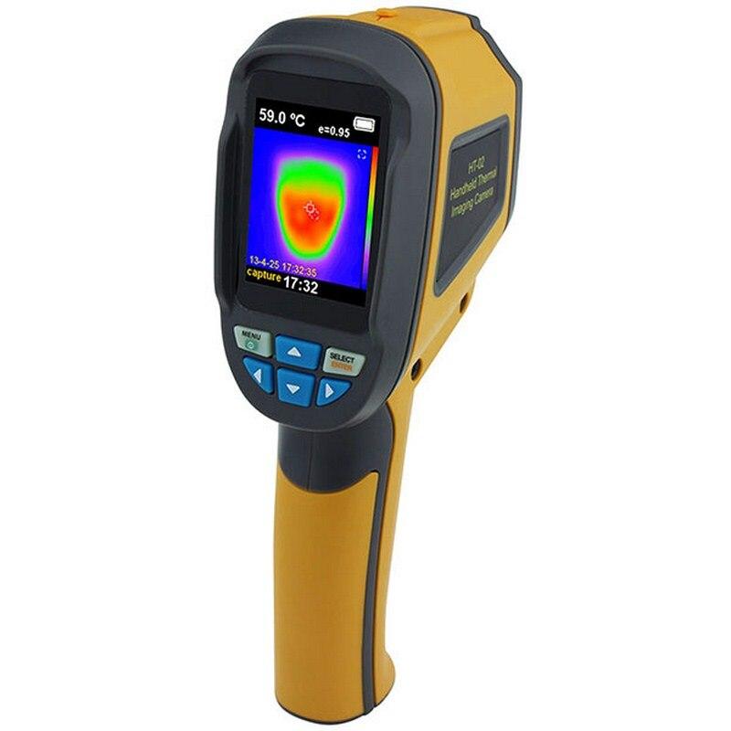 Thermomètre infrarouge de caméra d'imageur thermique de précision IR-20 ~ 300 degrés 2.4 pouces écran couleur haute résolution