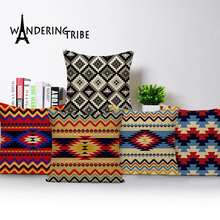 Decorative cushion covers geometric outdoor cushions Custom throw pillows morocco pillow  decorative Dropshipping