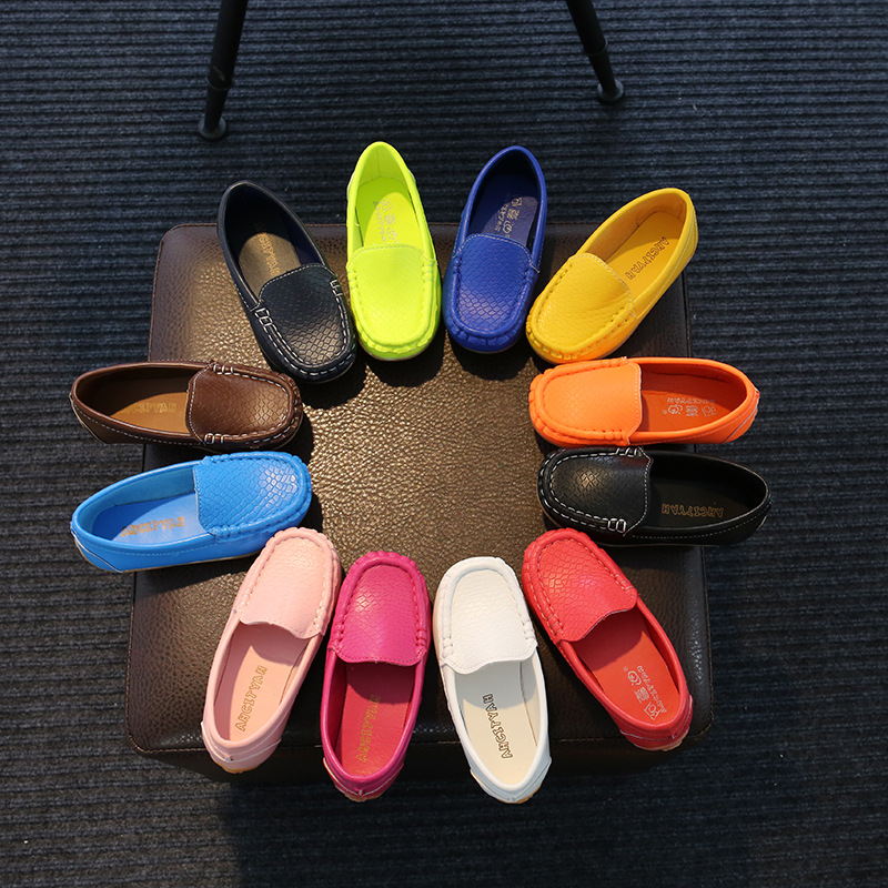2018 Spring Girl PU shoes Eur 21-38 Super Quality Chaussure Children Leatherwear Kids Shoes Leisure Shoes free shipping ...
