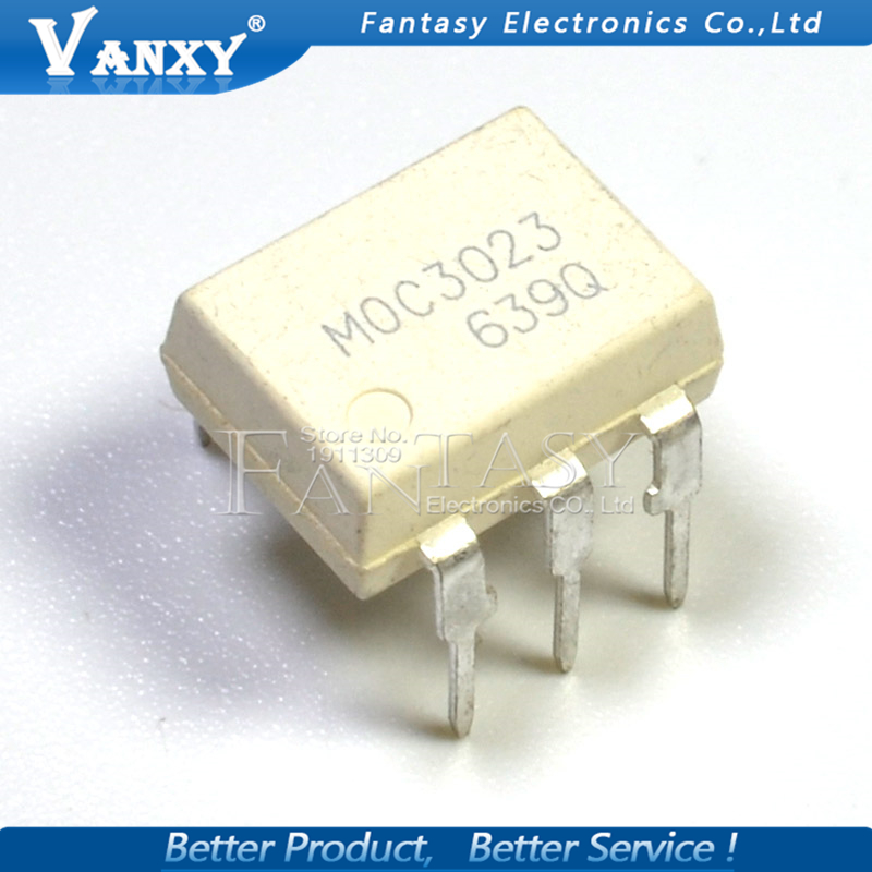 10PCS MOC3023 DIP6 DIP-6 DIP New And  Original IC