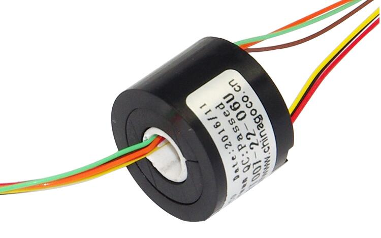 Hollow Shaft Slip Ring Conductive Electric Colletor Rings SRT007-22-0XU 4 Channel 6 Channel 1.5A With Hole Hole Dia.7mm slipring zsr022 3r20a capsule slip ring for automatic arm slip rings 3 channel 20a large current compact slip ring out dia 22mm