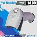 Freeship! JP-A1 Al Por Mayor $11.9 De Mano Barcode Scanner lector de código de barras láser escáner de código de barras de mano con cable USB lector de códigos 1D