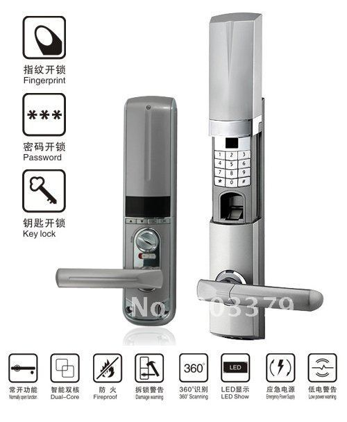 fingerprint lock  for office and out door