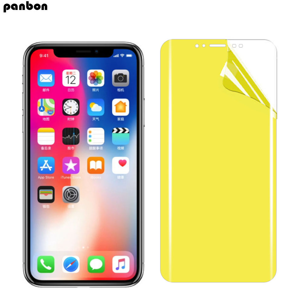 Full Cover Nano Soft Hydrogel TPU Front and Back Protective