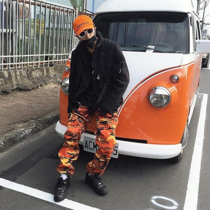 EFUNGAL Multi pockets Cargo Pants Men 2019 Hip Hop Joggers New Design Fashion Streetwear Skateboard Sportswear