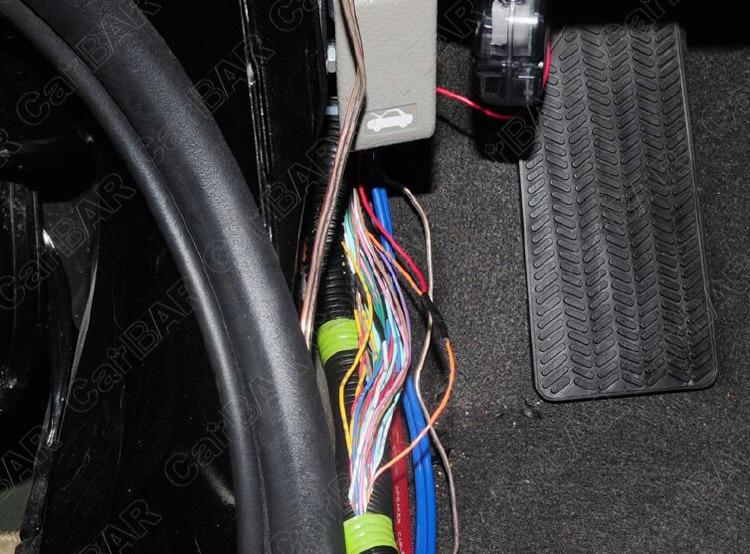 gps car alarm installing (4)