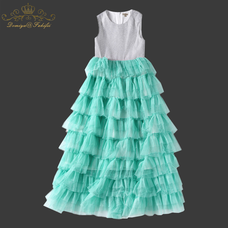 Girls Dress Unicorn 2018 Brand Girls Summer Mesh Tutu Dress Princess Dress Girls Costumes Vestidos Kid Clothes Children Clothing цены онлайн