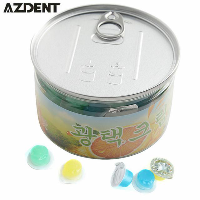 AZDENT 80 pçs/caixa Whitestrips Dentes Dental Branqueamento Dentes Whitener Limpeza 3 Branco Brilhante Sorriso Dentes Pasta de Dente Polidor