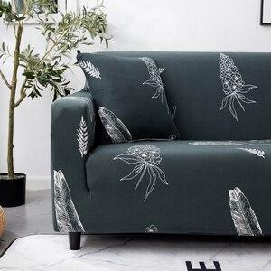 Image 5 - Parkshin Nordic Elastische Spandex Sofa Abdeckung Engen Wrap All inclusive Couch Abdeckungen für Wohnzimmer Schnitts Sofa Abdeckung