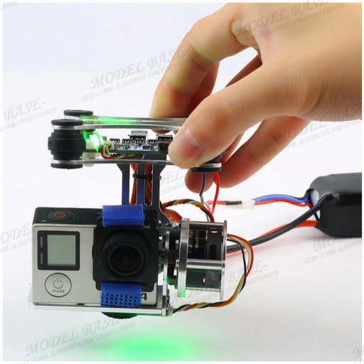 Eachine Light-2D Brushless cardán w / Motor y regulador para DJI Phantom