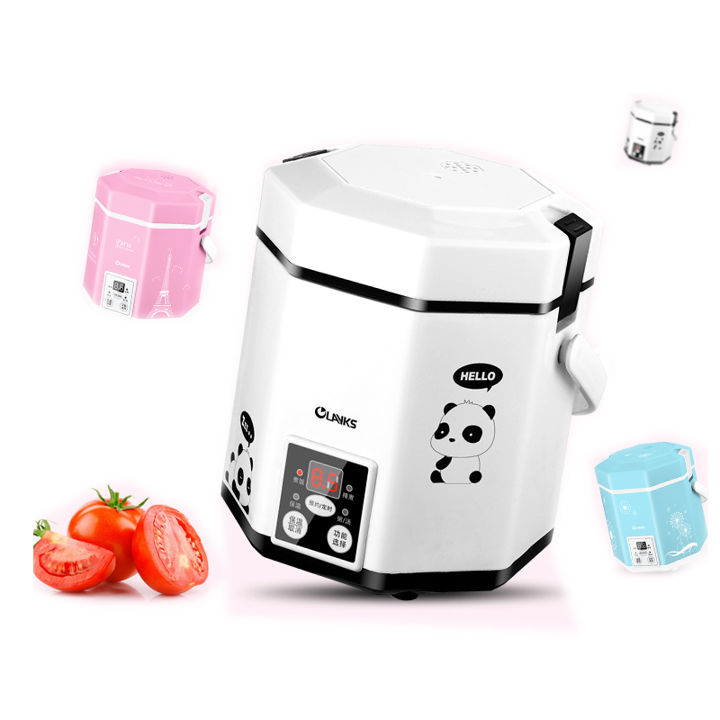 1.2L Mini Rice Cooker Intelligent Time-Appointment Electric Porridge Cooker Suitable for 1-2 People CFXB12-200B 1 2l rice cookers mini intelligent rice cooker electric rice steamer with timer control cfxb12 200b