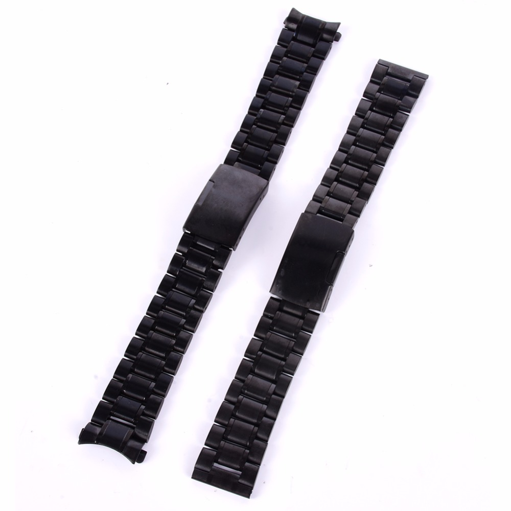 18-24mm 시계 Bnad 스트랩 스테인레스 스텔라 배치 걸쇠 속도 마스터 손목