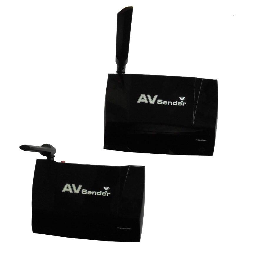 5 8GHz Wireless Video FM Broadcast Transmitter Receiver Audio Adapter 300M HDMI AV Receiver Sender For