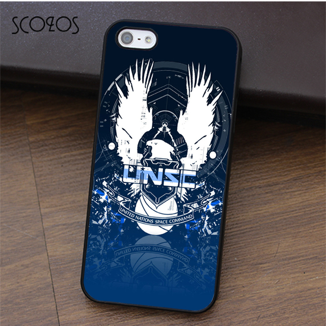 best website cd4af 28f77 US $4.99 |SCOZOS First Personal Shooting Game Halo 4 Unse logo case for  iphone X 4 4s 5 5s Se 5C 6 6s 7 8 6&6s plus 7 plus 8 plus #ca226-in Fitted  ...