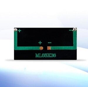 Image 3 - 10 шт. 6836 5 в комплект зарядного устройства для солнечной панели DIY, поликристаллическая фотоэлектрическая панель, устройство для выработки солнечной энергии