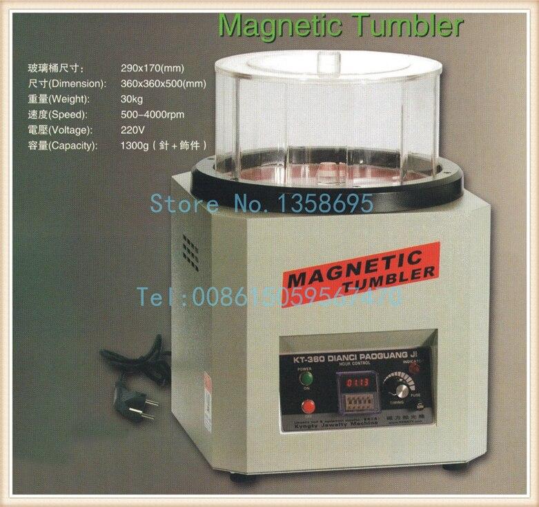 Copos magnéticos, máquina de polimento de jóias, mini polidor magnético, máquina de polimento de diamantes, superfície de polimento rotativo tumbler