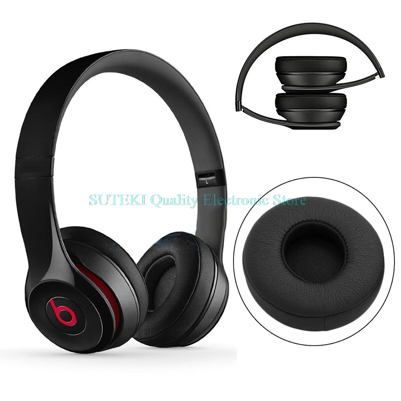 Replacement Ear Pads Cushioned For Beats Solo2 Bluetooth Wireless Headphones Lot