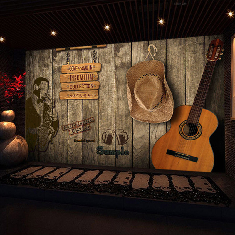 3d Bar Scene Wall Mural Custom Wallpaper According To Your Wall