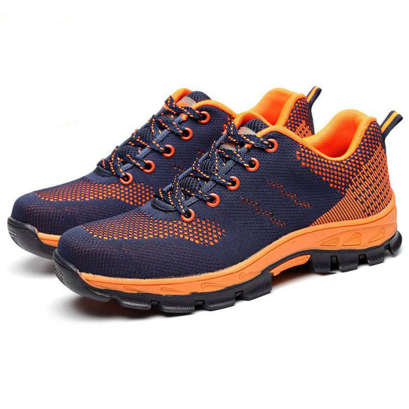 Safety Shoes Cap Steel Toe Safety Shoe Boots For Man Work Shoes Men Breathable Mesh Size 12 Footwear Wear-resistant YXZ010Safety Shoes Cap Steel Toe Safety Shoe Boots For Man Work Shoes Men Breathable Mesh Size 12 Footwear Wear-resistant YXZ010