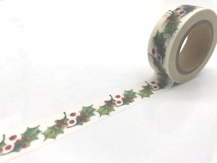 jiataihe  Washi Tape Decorative Scotch Tape Scrapbook Paper Masking Adhesive Tape christmas  washi tape christmas  set