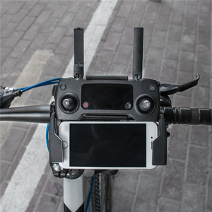 Image 4 - Fahrrad Lenker Halter Halterung für DJI Mavic Pro Transmitter Fernbedienung Stabilisator 360 grad Drehbare Halterung