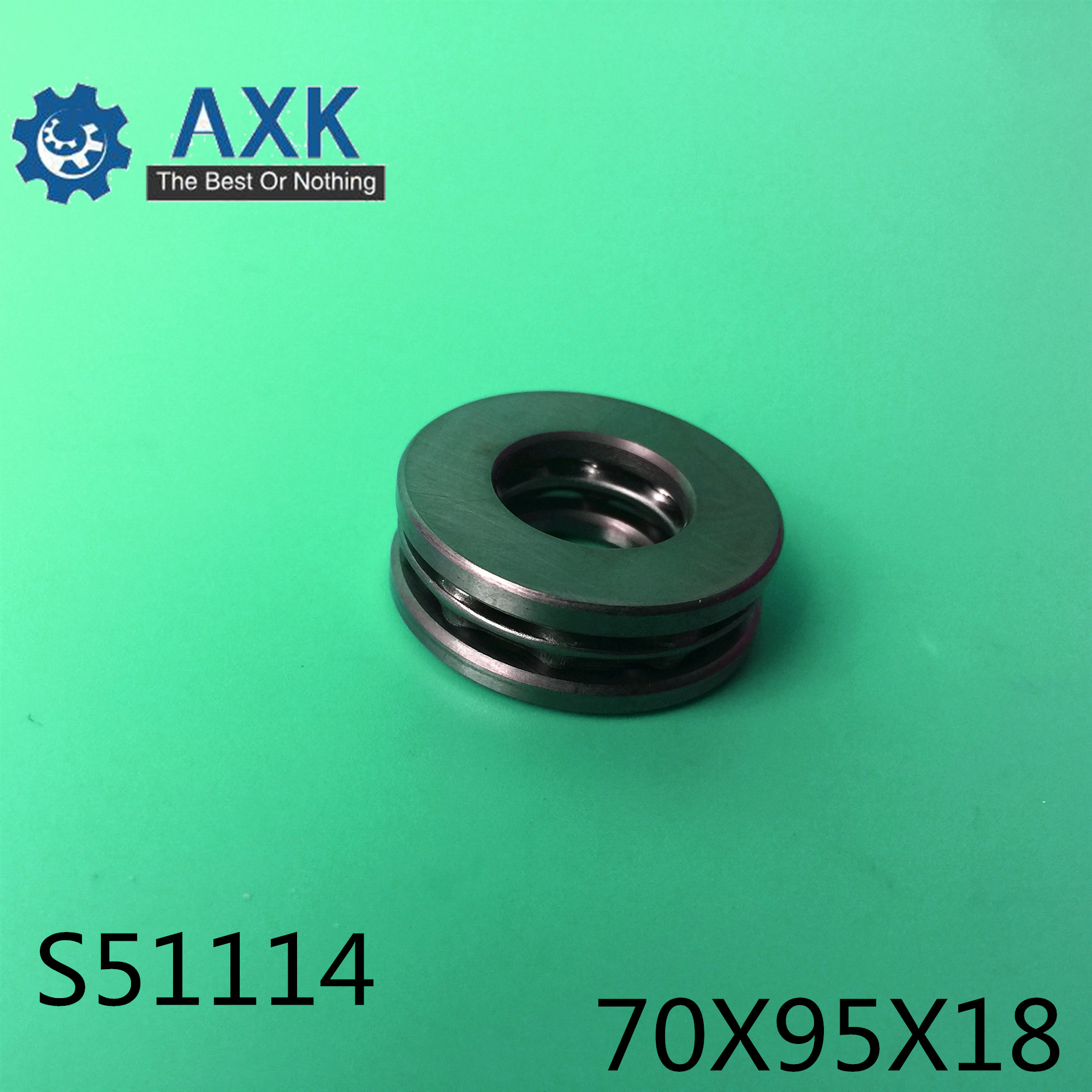 S51114 Bearing 70*95*18 mm( 1PC ) ABEC-1 Stainless Steel Thrust S 51114 Ball BearingsS51114 Bearing 70*95*18 mm( 1PC ) ABEC-1 Stainless Steel Thrust S 51114 Ball Bearings