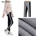 New Fashion Women Leggings Elastic Waist Trouser Pants Slim Cozy Casual  Pants Trousers Cotton Warm Feminina