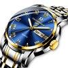 Stainless steel Waterproof Business Date Analog Wrist watch