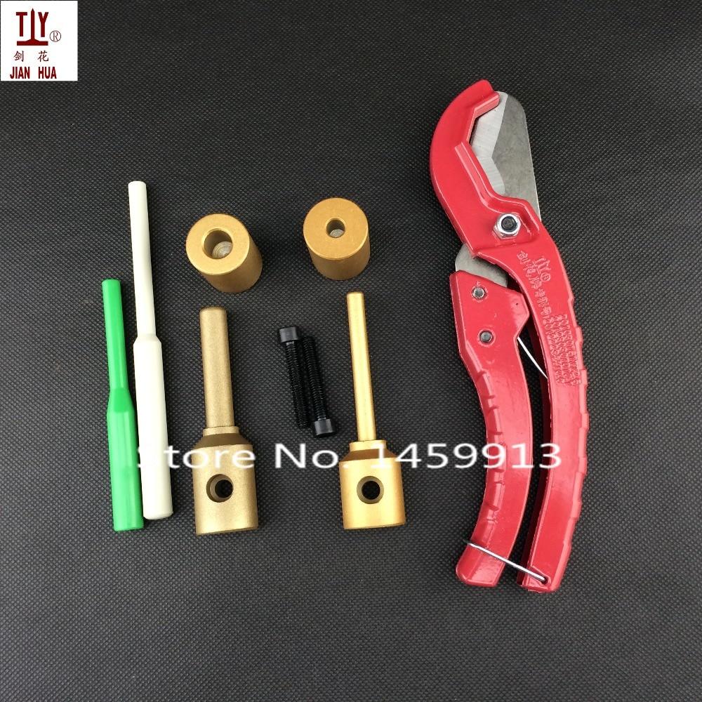 С 25 мм резак PPR Водопровод ремонтный инструмент ремонт лазейки пластиковые 7 мм трубы Сварочные части штамповки, Сварочная форма
