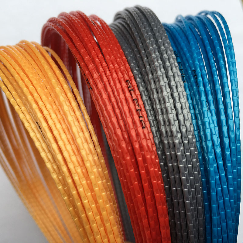 1 Pc Tennis String 1.25mm 12M Tennis Rackets String Bamboo Grain Quality Strings