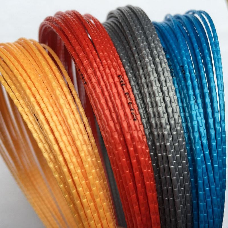 1 Pc Tennis String 1.25mm 12M Tennis Rackets String Bamboo Grain Quality Strings