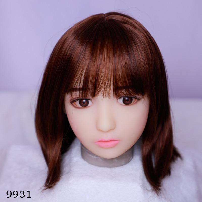 13cm Depth Silicone Sex Doll Head TPE Oral Sucking Sex Doll Accessories For 100-140cm Love Dolls Sextoy For Men Male Masturbator