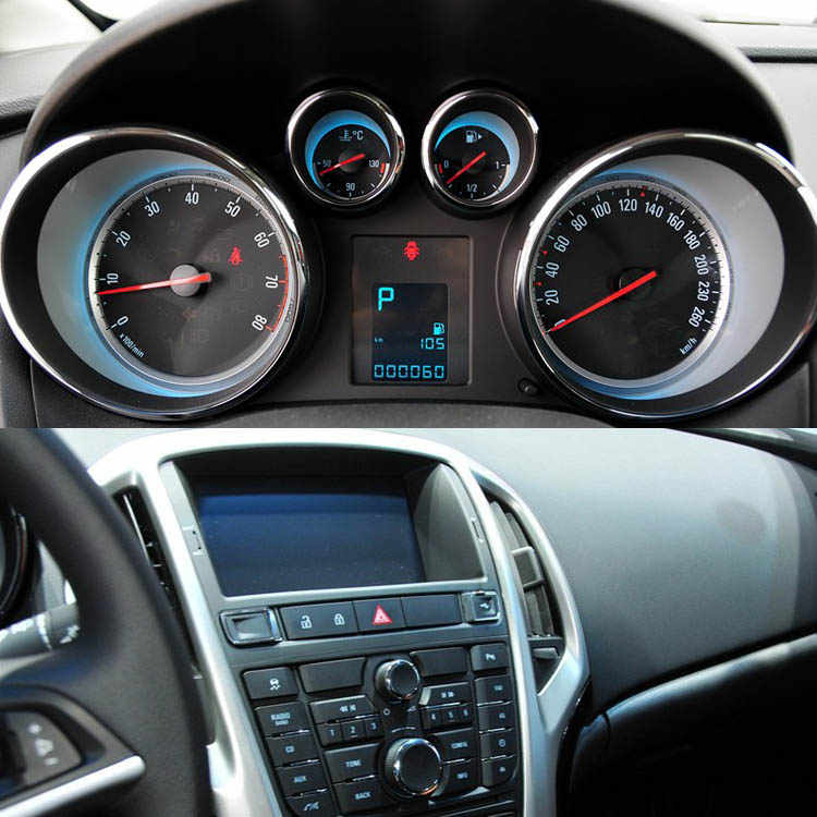 Savanini High Quality Anti-scratch PET Dashboard Transparent Protective For Buick Excelle GT