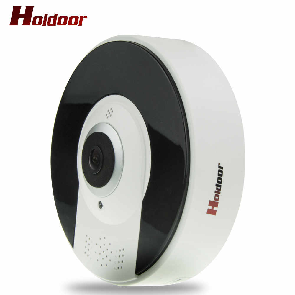 Holdoor 3MP 360 Degree Fisheye Security Camera Wireless IP Camera Wifi Dome Camera VR Camera Remote View Free Smartphone APP